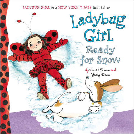 Ladybug Girl Ready for Snow